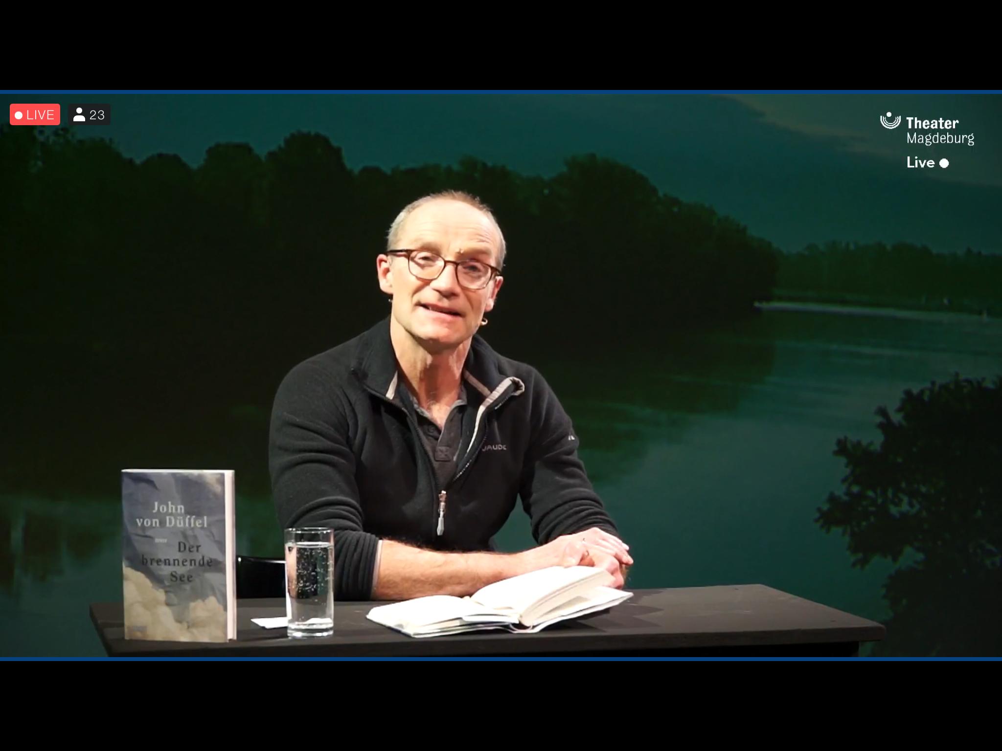 John von Düffel – Der brennende See