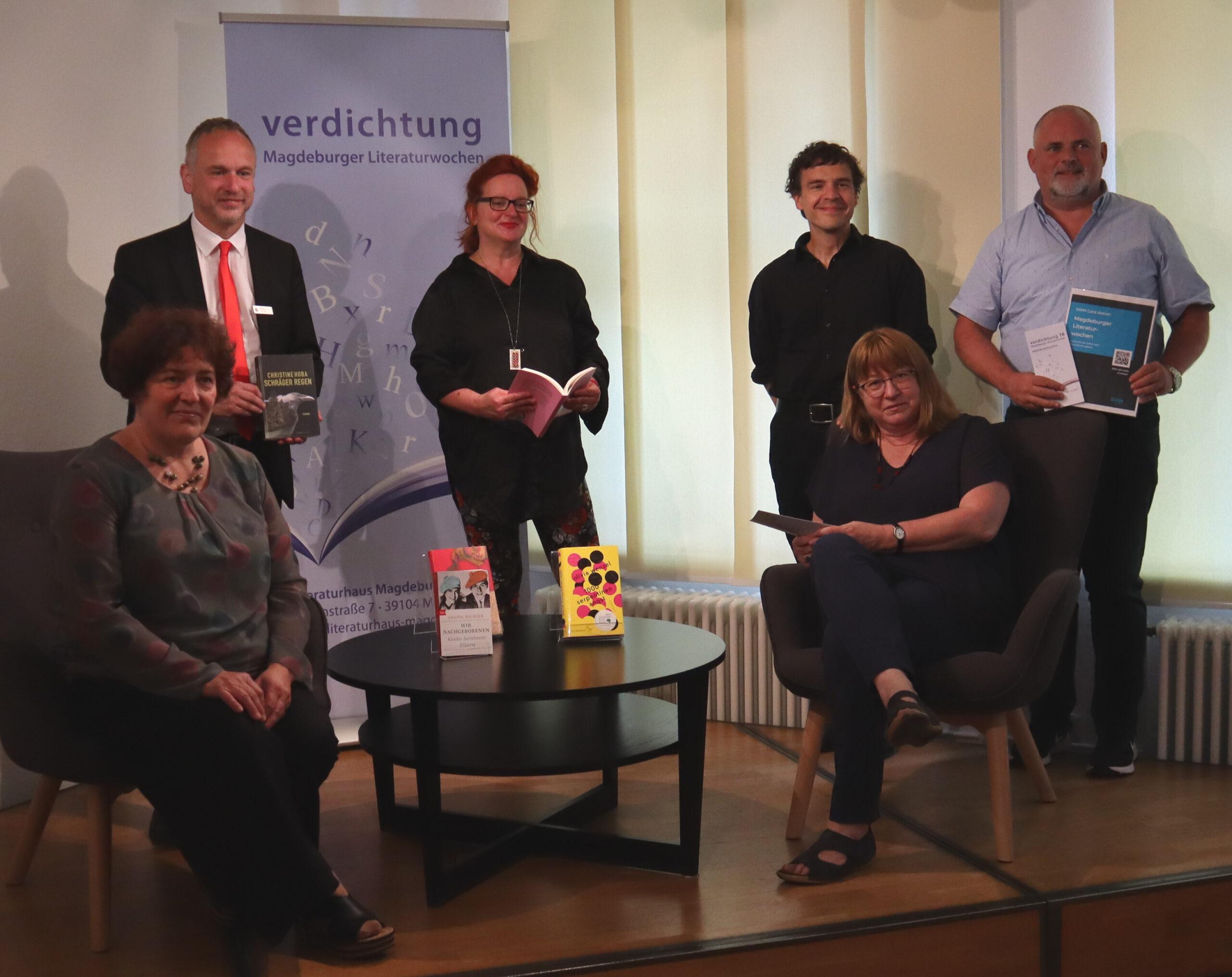 Pressegespräch zu den 30. Magdeburger Literaturwochen